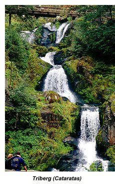 Selva Negra de Alemania - Triberg (Cataratas)