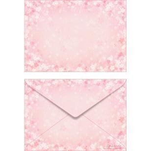 Cherry blossom ISO C6 0004,Envelopes ,Card,pink,multi-purpose,Cherry Blossoms,C6 size envelope,flower