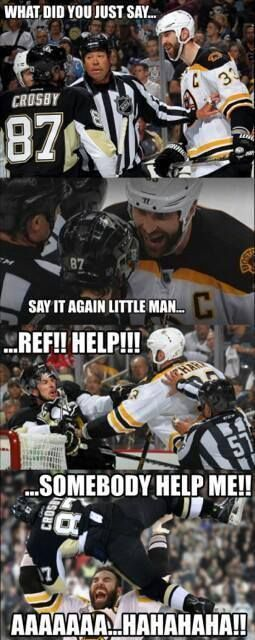 Crosby the crybaby