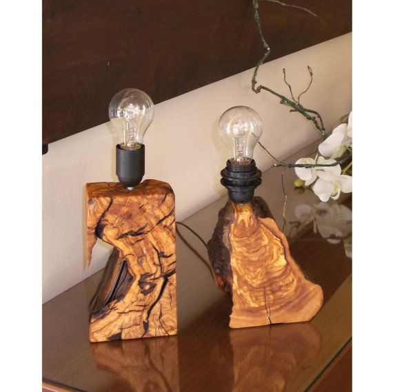 Unique table lamp table lamp pair table lamp от rustichandcrafts