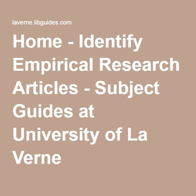 empirical research articles on schizophrenia Writing article summaries for empirical articles, the summary identifies, explains, and analyses the research questions, methods, and findings.
