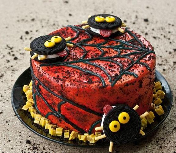 Oreo halloween kuchen