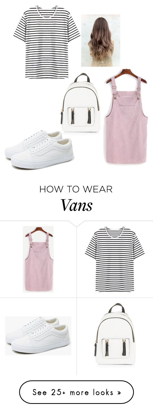"""Untitled #162"" by lalittaaristha on Polyvore featuring New Look and Vans"