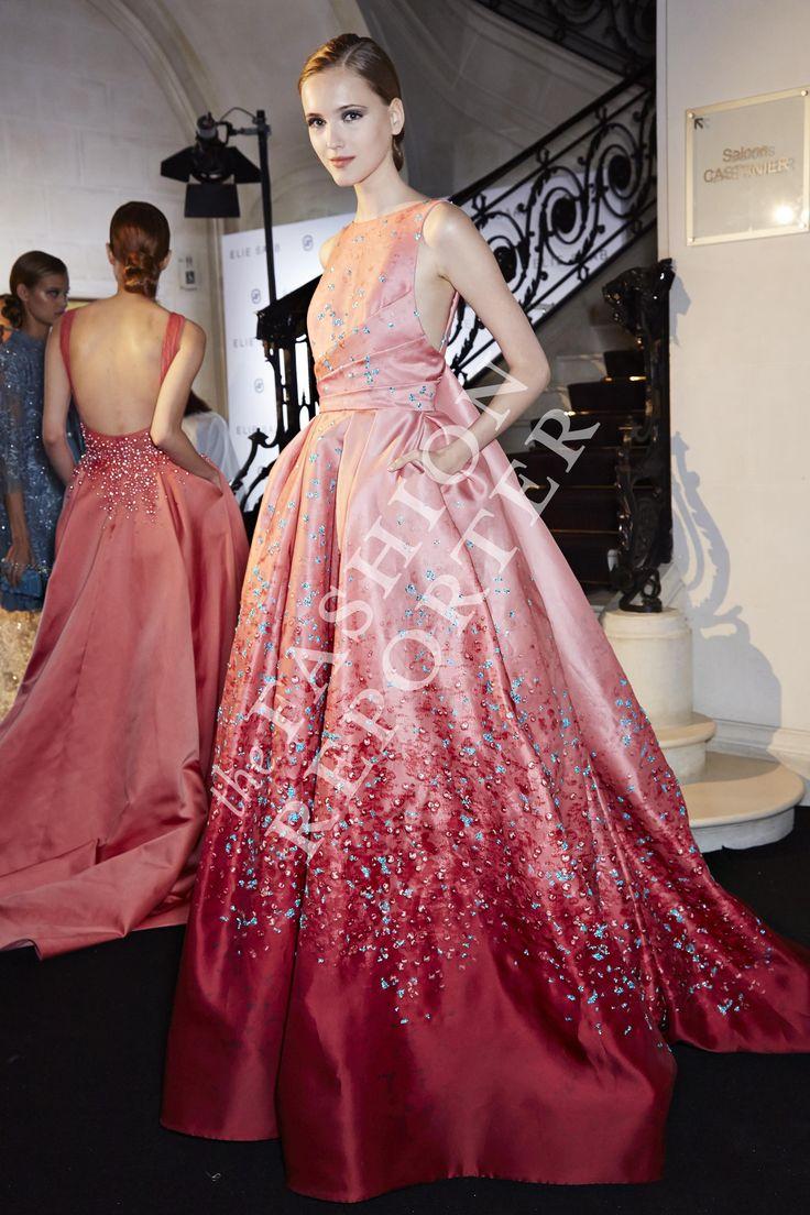 Elie Saab Backstage | Haute Couture FW14-15 | Ph. Antonello Trio