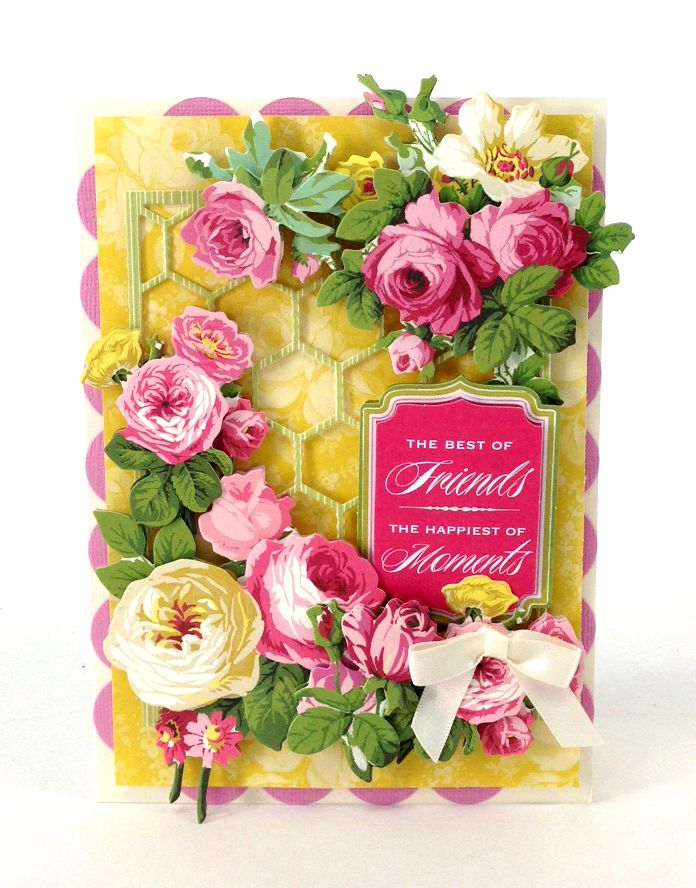 © Anna Griffin, Inc. Cottage Rose Stickers