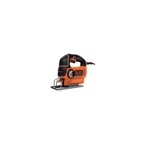 Scie sauteuse pendulaire Black + Decker 'KS801SEK' 550 W   Brico