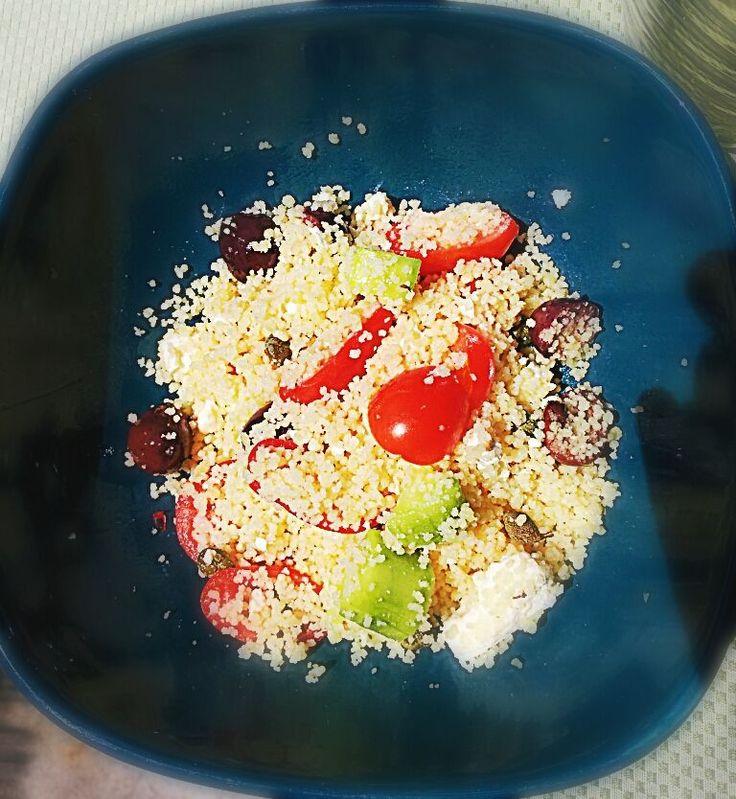 Insalata di cous cous alla greca @ http://allrecipes.it