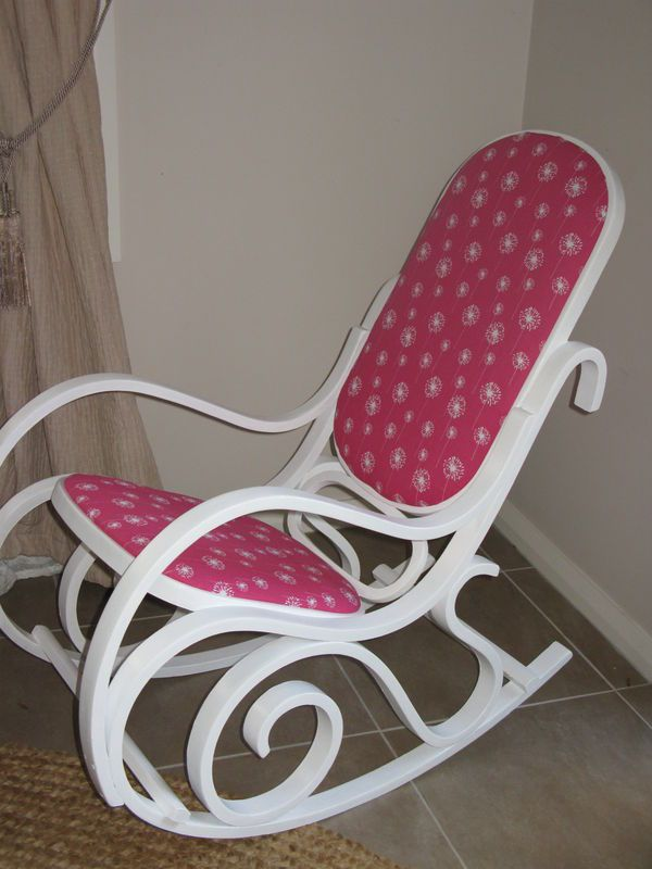 Bentwood+Rocking+Chair+Makeover