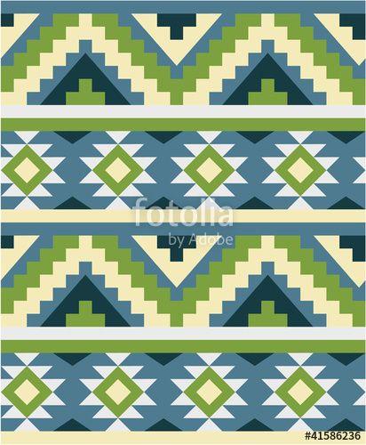 Vector: Ethnic seamless pattern