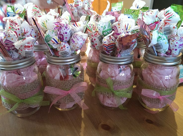 mason jar baby shower ideas
