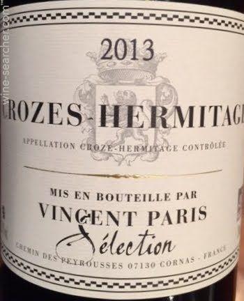 Crozes Hermitage by Vincent Paris