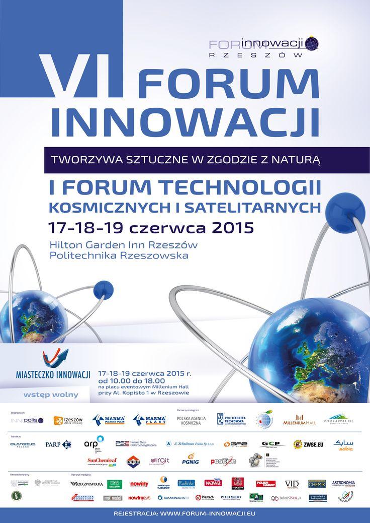 Layout Forum Innowacji i Forum Technologii Kosmicznych. Projekt: Studio Zakład, www.zaklad.pl