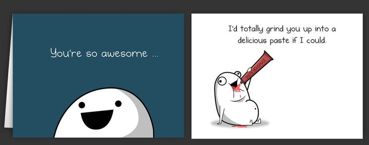 Horrible Cards Greeting Cards by The Oatmeal – The Oatmeal Birthday Cards