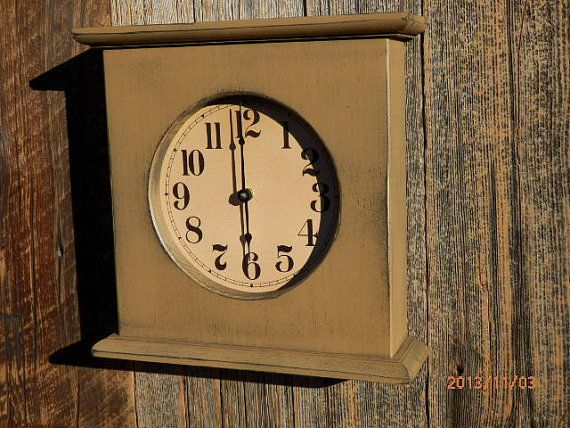 All clocks are handcrafted with #1 Pine also known as select pine which makes a good quality clock.This elimitates knots that can become