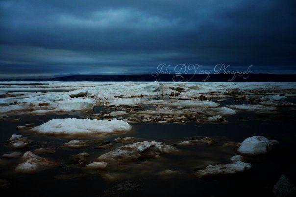 Cold Atlantic Ice from Nova Scotia