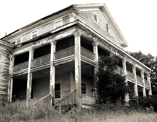 The White Lake Mansion House  One of the oldest surviving Catskills hotels built in 1848. Click on the link below for more about this historic building.