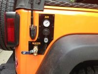WRITE UP: Pressurized Running Water on Jeep using Stock Bumper as tank - Jeep Wrangler Forum
