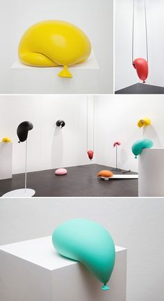 Image result for balloon conceptual art