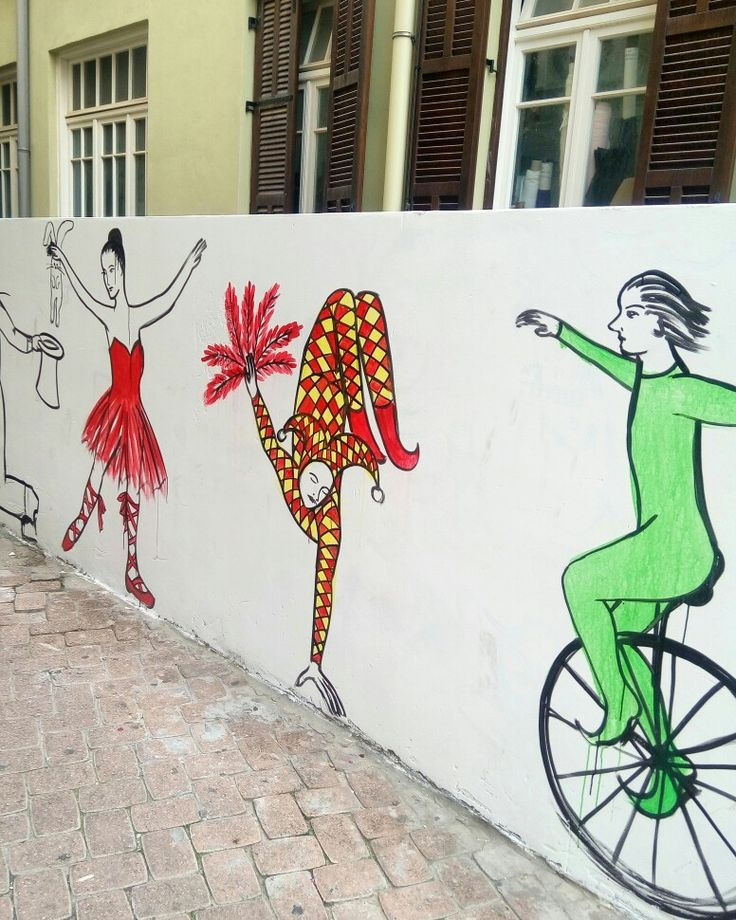 Nice graffiti on Nahalat Binyamin street