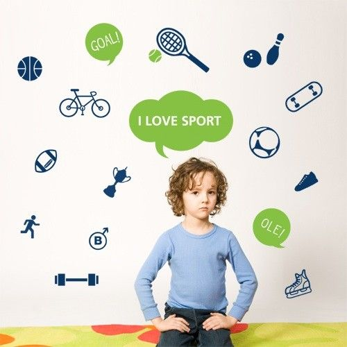 Lovely 54 Best Images About Sports Wall Decals On Pinterest Part 11