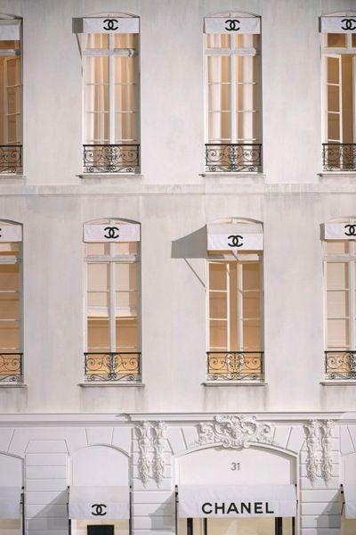 Chanel windows in Paris, France