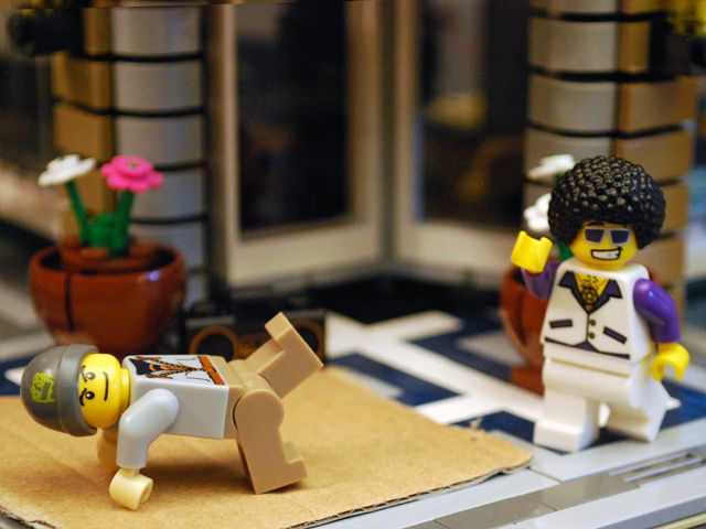 Disco meets breakin #LEGO
