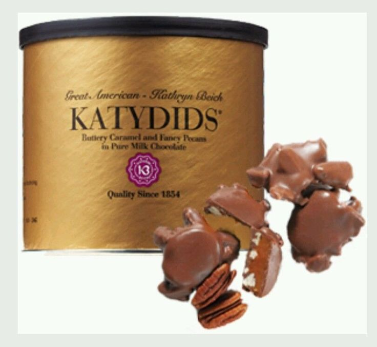 katydids chocolate candy pecans great valentine's day gift from $25.0