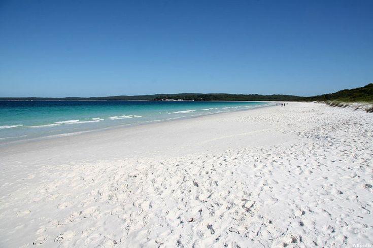 Hyams Beach - Australia è la spiaggia che ha la sabbia più bianca del mondo Guinness World Record