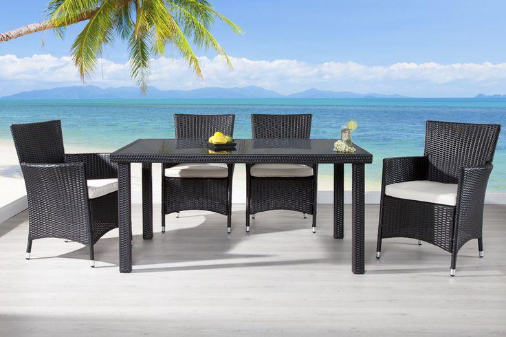 Europaletten Gartenmobel Streichen : Jetzt exklusiv auch als GartenmöbelSet aus 4 Sesseln und einem Tisch