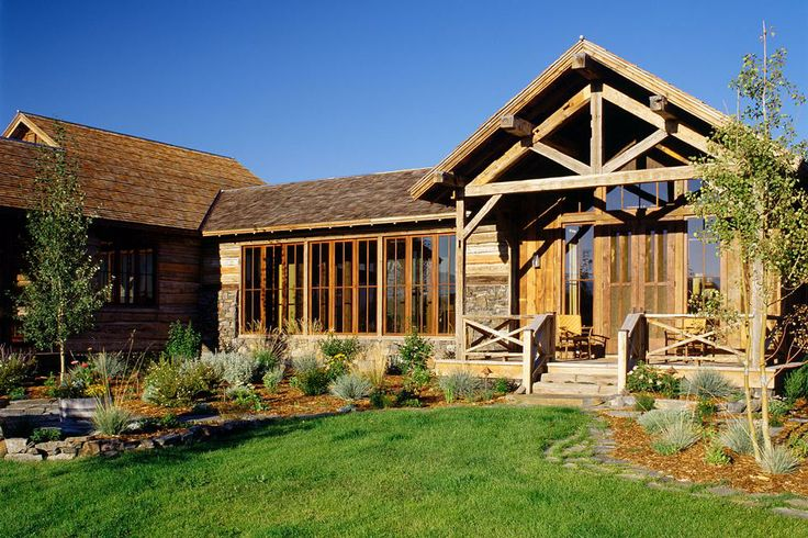 17 best images about ranch style on pinterest montana for Ranch style log cabins