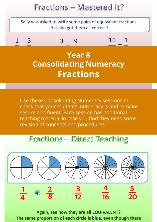 simplest form 3/9  Day 16 - Identify equivalent fractions; Reduce fractions to ...
