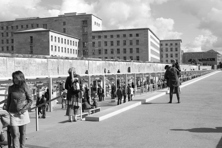 BERLIN / Topographie des Terrors (Ursula Wilms + Heinz W. Hallmann, 2006-2010) © Fernanda Martin