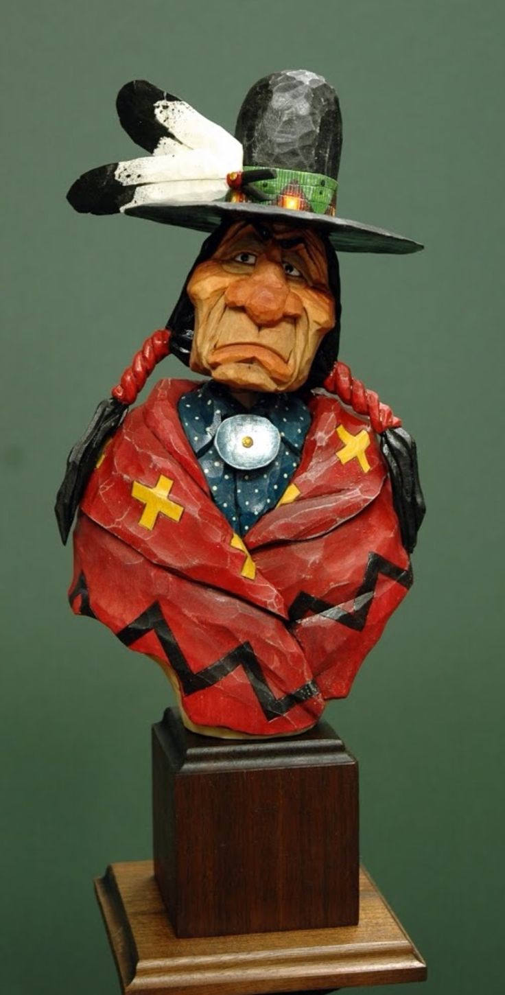 Pin by Rick Conley on Caricature carvings | Wood Carving ...