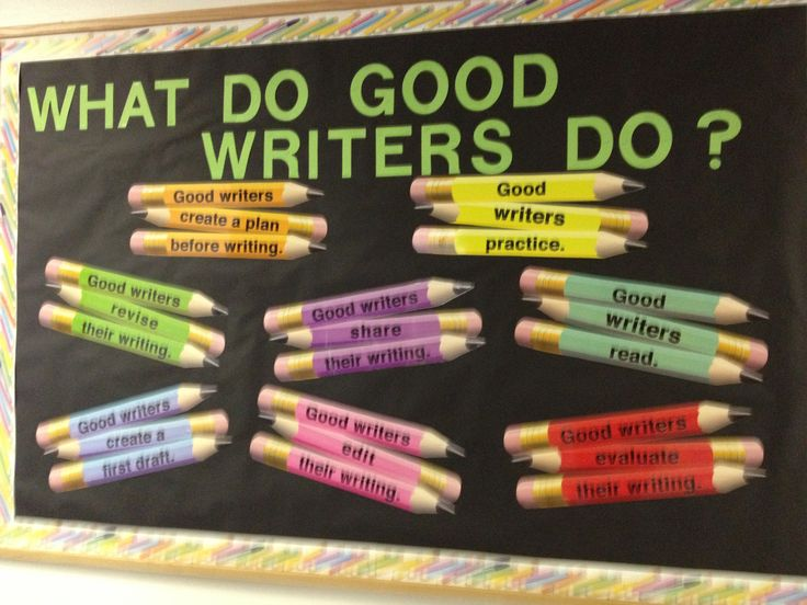 write a notice for your school bulletin board