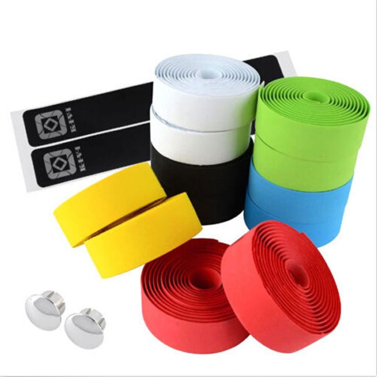 Colorful Cycling Handle Belt Bike Bicycle Cork Handlebar Tape Wrap+2 Bar Plugs Bicycle Accessories //Price: $6.95 & FREE Shipping //     #hashtag1