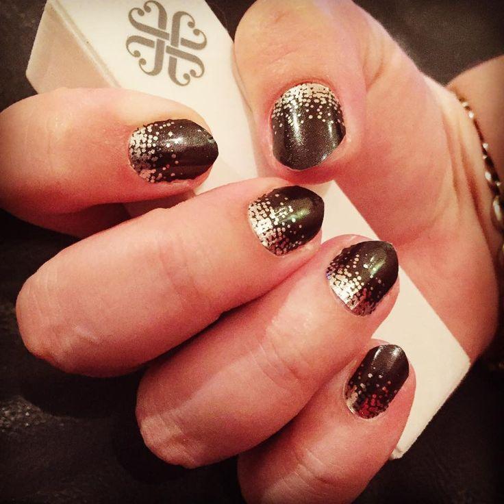"""Midnight Celebration"" available at nickystone.jamberry.com  #jamberry #nails #beauty"