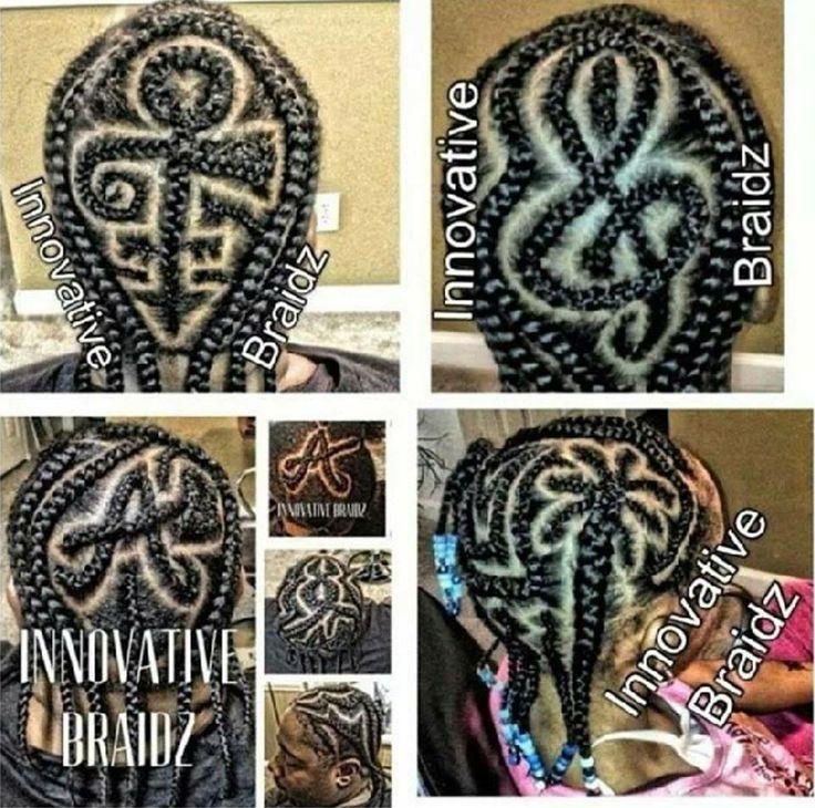 tresses colles flat braids