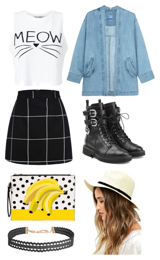 """Outfit #5 Casual"" by anaza1410 on Polyvore featuring moda, Miss Selfridge, Giuseppe Zanotti, Steve J & Yoni P, LULUS y Humble Chic"