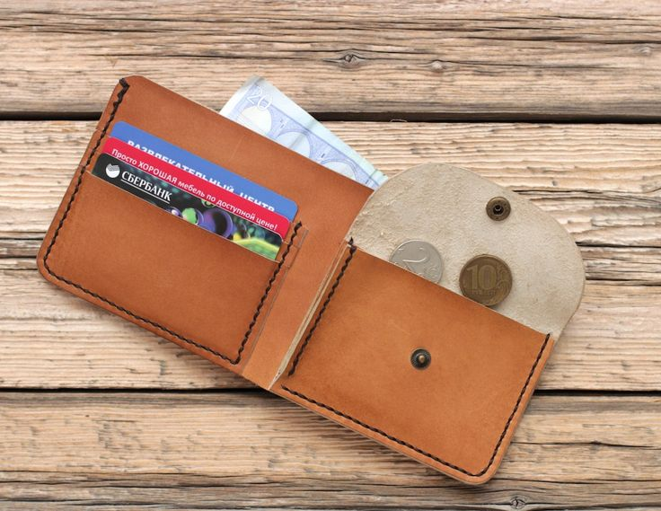 Mens leather wallet with coin pocket womens leather wallet with coin pocket…