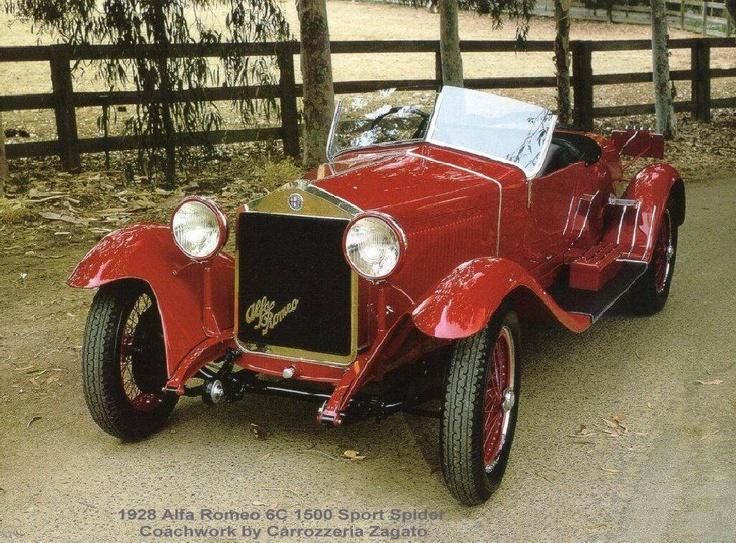 1928Alfa Romeo 6c 1500 Zagato Sport Spider