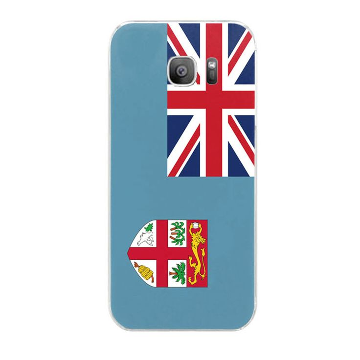 Fiji flag pattern for Samsung Galaxy S7 case phone case