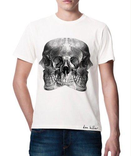 Dan HillierHoar Tshirt, Hillier Shirts, Dan Hillier,  T-Shirt, Artworks, Skull T Shirts, Hoarse T Shirts,  Tees Shirts, Hoar T Shirts
