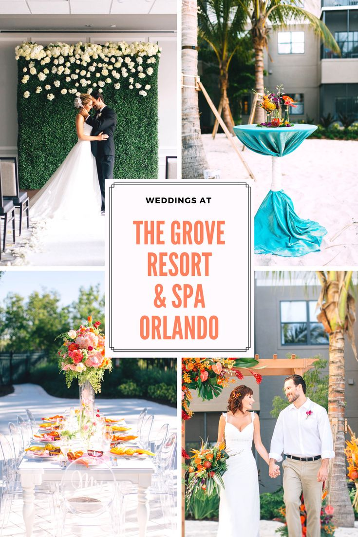 With A Variety Of Indoor And Outdoor Venues The Grove Resort Spa Is Orlando Wedding