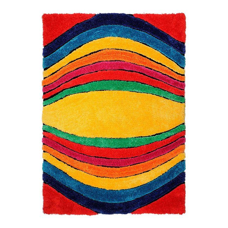 Teppich Soft Funky - Multicolor - Maße: 140 x 200 cm, Tom Tailor Jetzt bestellen unter: https://moebel.ladendirekt.de/heimtextilien/teppiche/sonstige-teppiche/?uid=6b408b19-0f3f-5fb0-8129-00d27aad30a2&utm_source=pinterest&utm_medium=pin&utm_campaign=boards #möbel #kinderzimmer #tom #heimtextilien #tailor #teens #sonstigeteppiche #teppiche #kids