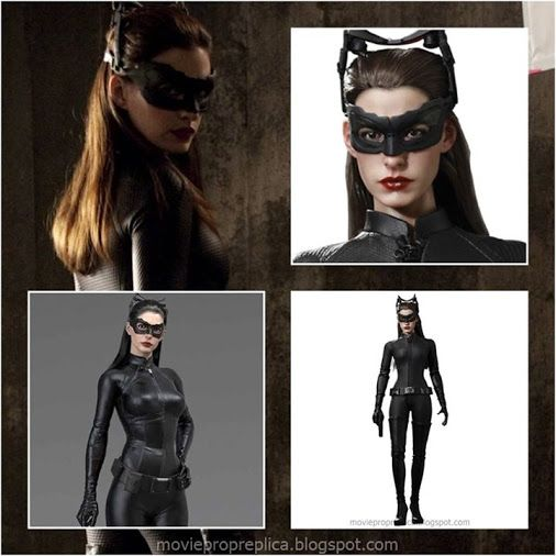 Anne Hathaway as Selina Kyle / Catwoman - The Dark Knight Rises