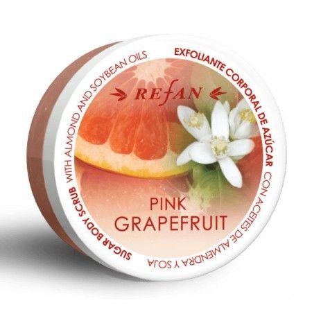 Pink grapefruit testradír - A rózsaszín grapefruit testradír egy izgalmas kombináció, természetes cukorkristályok, természetes növényi vajak és puha hab a grapefruit frissítő citrusos és édes illatával lenyűgözi érzékeid. Eltávolítja a felesleges, elhalt hámsejteket, stimulálja a bőrt, segít megszabadulni a szervezetben felgyülemlett méreganyagoktól, így bőröd fellélegezhet. ©Refantázia