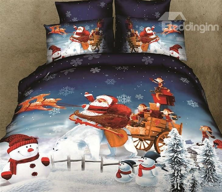 Santa Claus Bedding Set So Lovely Xmas Kakes Amp Other