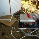 Step 0: Table saw extension