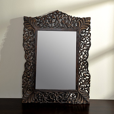 Jharokha Mirror  was 114.99 now $80.49   SKU 115543   1 inches wide x 20 inches long x 27 inches high