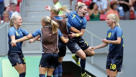 U.S. women's soccer team knocked out by Sweden in stunning upset